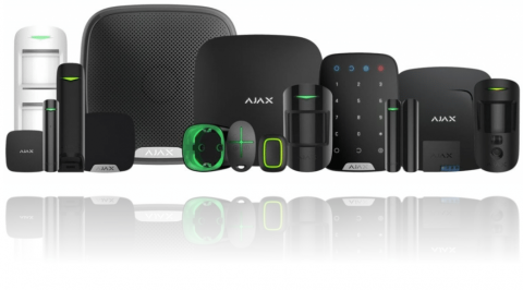 AJAX alarm detektori i komponente