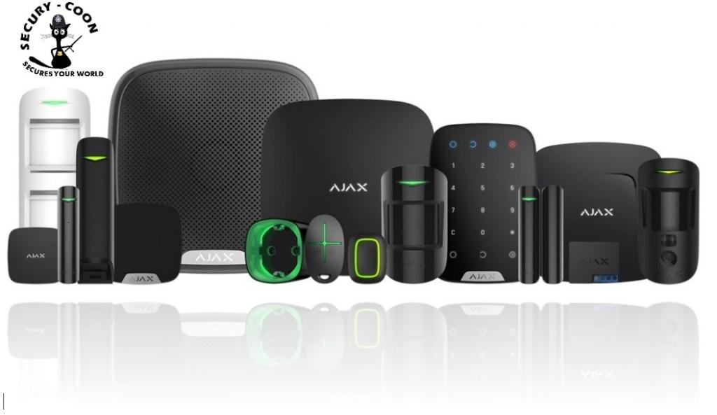 AJAX alarm elementi