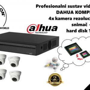 Dahua-kit-4 kamere